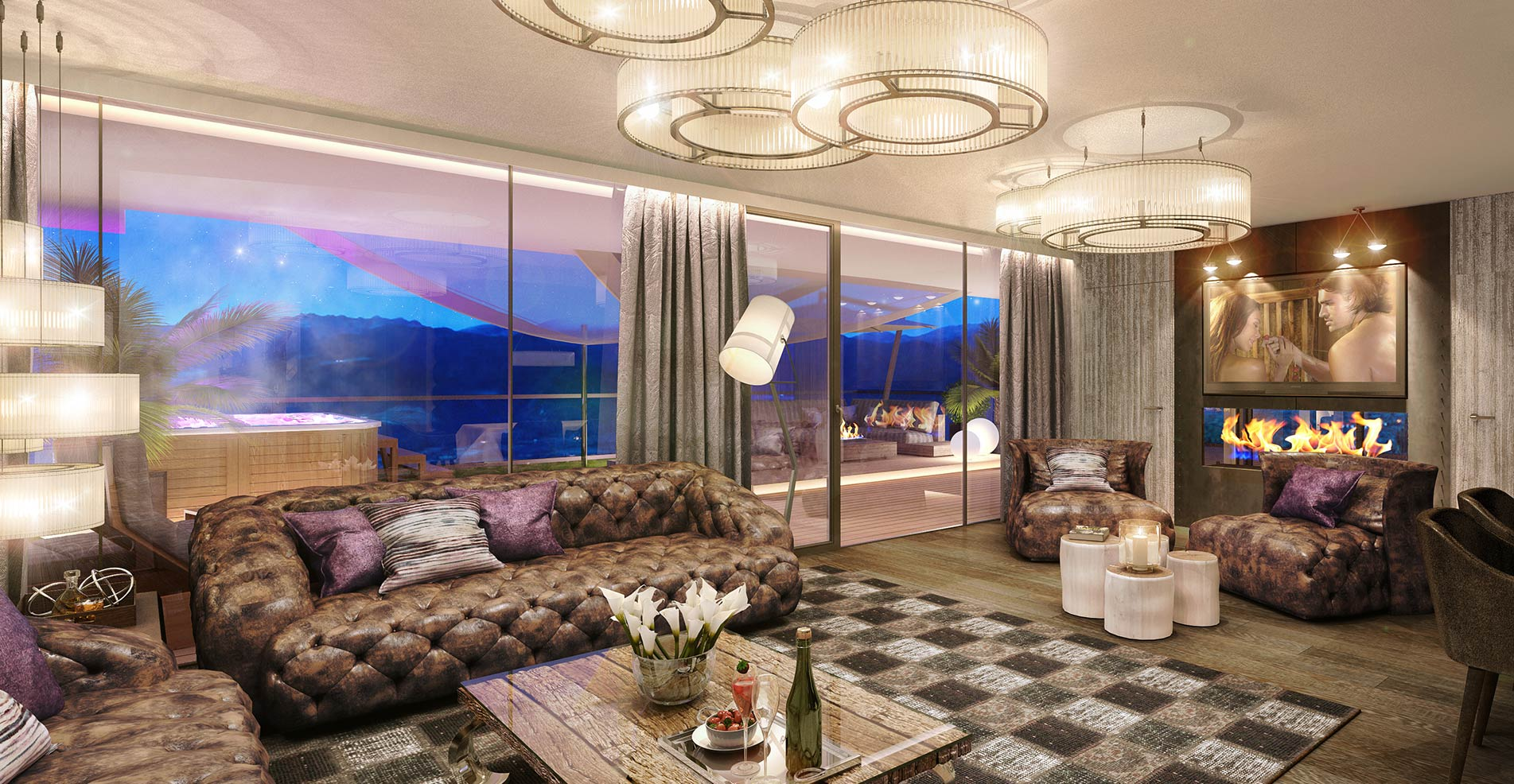 Wellnesshotel s dtirol 5 luxury dolce vita hotel for Design wellnesshotel sudtirol