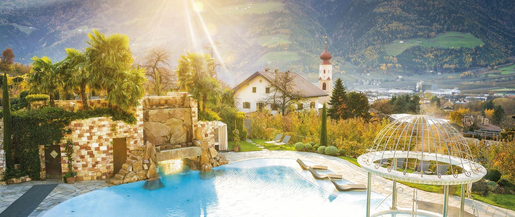 Romantischer Garten im Preidlhof