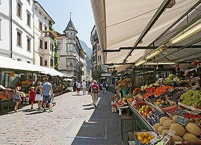 Bozen fruits market